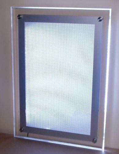 Gowe Crystal Advertising Led Light Box,1200Mmx900Mm Crystal Poster Led Light Box(2Pcslot)
