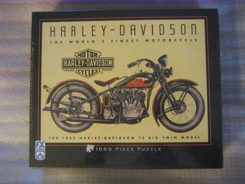 133 Harley-Davidson 74 Big Twin Model 1000 Piece Puzzle