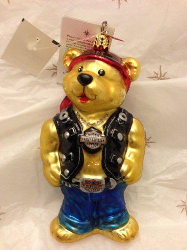 Christopher Radko - Harley Davidson Bear 01-har-03