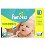 Pampers Swaddlers Diapers Size 2 Econ...