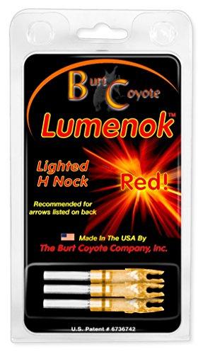 Lumenok H Nock (3-Pack), Red