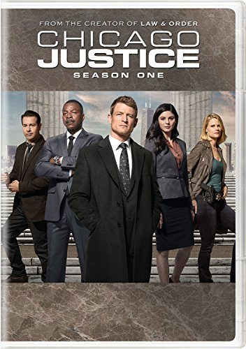 DVD : Chicago Justice: Season One (3 Pack, 3 Disc)