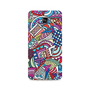 Mobicture Premium Printed Back Case Cover With Full protection For Samsung Galaxy A7 2016