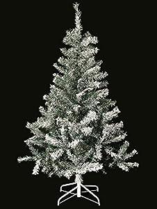 Sapin de Noël artificiel ENNEIGE - FLOQUE - Hauteur 1m50 - 232 Branches - qualité supérieure- NOUVEAU MODÈLE 2014