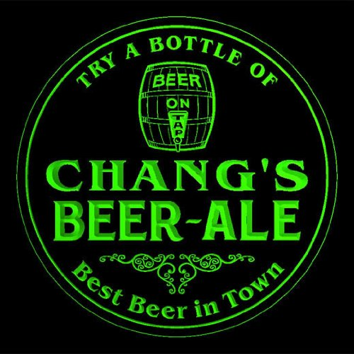4x-ccpn1687-g-changs-best-beer-ale-in-town-bar-pub-3d-coasters