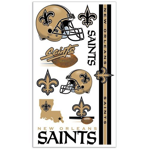 New Orleans Saints Tattoos at Amazon.com