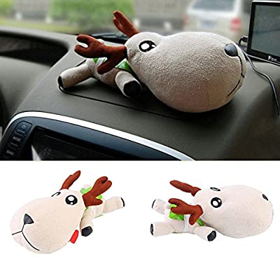 Cute Deer Bamboo Charcoal Air Purifier, Odor Absorber Odor Remover Car