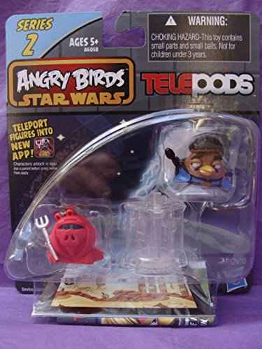 Angry Birds Star Wars Telepods Series 2 - Lando Calrissian & Royal Guard