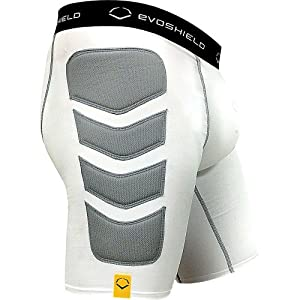 Evoshield Adult Compression Baseball Sliding Short With Cup by EvoShield