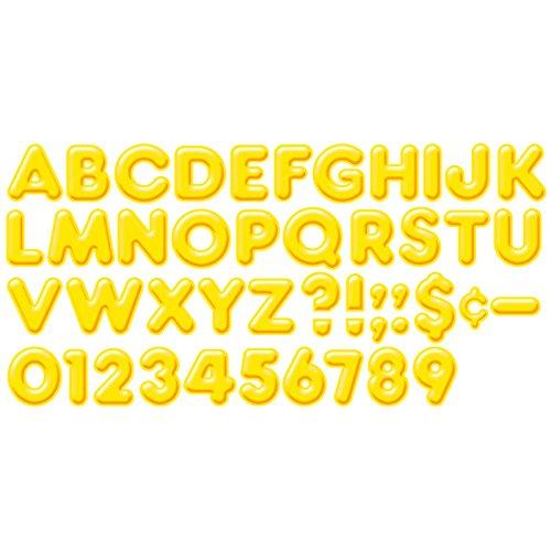 """Trend Enterprises 3D Ready Letters, 4"""", Yellow (T-79503) - 1"""