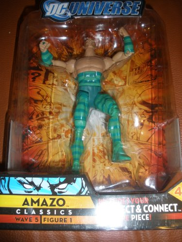 Buy Low Price Mattel DC Universe Classics Series 5 Exclusive Action Figure Amazo Build Metallo Piece! (B001KU2VLK)