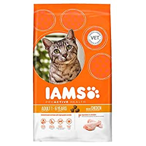 Iams Cat Food ProActive Health Adult Rich In Succulent Roast Chicken 10 kg