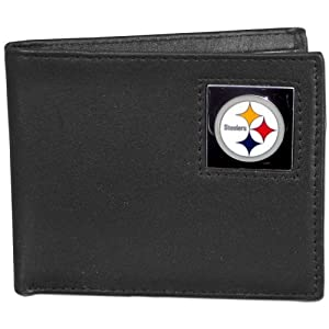 NFL Bifold Wallet in a Tin - Pittsburgh Steelers