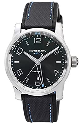 [Mont Blanc] MONTBLANC watch TIMEWALKER black dial automatic winding 109334 Men's parallel import goods]