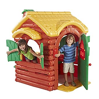 Ecr4kids Childrens Wilderness Log Cabin Playhouse Epic Kids Toys