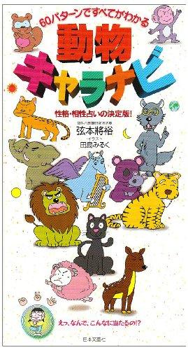 動物キャラナビ―60パターンですべてわかる 性格・相性占いの決定版!