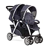Chicco Travel System Twin Stroller Together Nature with Keyfit car seats