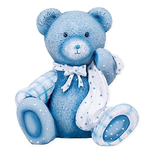 """6.25"""" Blue Bear Nightlight Cute And Cuddly by Roman - 1"""