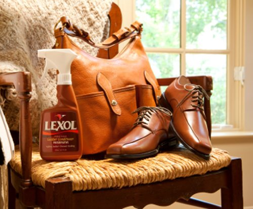 Lexol Leather Cleaner, Conditioner, and Vinylex 16.9 oz. Combo Pack with Sponge