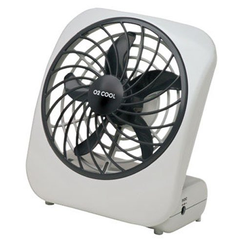 O2 Cool Fan : O cool portable fan battery operated white florence f