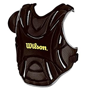 Wilson Pro Stock Hinge FX 2.0 Fastpitch Catcher's Chest Protector (Black, 14-Inch)