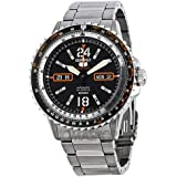 Seiko Men's 5 Automatic SRP347K Silver Stainless-Steel Automatic Watch