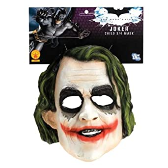 Amazon.com: Batman The Dark Knight The Joker Child Mask