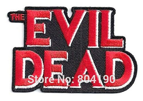 FairyMotion Evil Dead Tv Movie Halloween Costume Embroidered Baseball Cap Applique Logo Cosplay Iron On Patch Emo Goth Punk Rockabilly Perfect (Cute Halloween Tombstone Sayings)