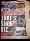 Lebron James 2003 Friday May 23, 2003 Daily News NYC Cover+Full Paper Ohio Basketball Star Thats Shoe Biz 90 Million Dollar Nike Contract Miami Heat