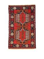 L'Eden del Tappeto Alfombra Beluchistan Rojo / Azul Marino 138  x  87 cm