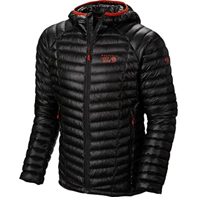 Mountain Hardwear Ghost Whisperer Hooded Down Jacket - Men's Shark Large
