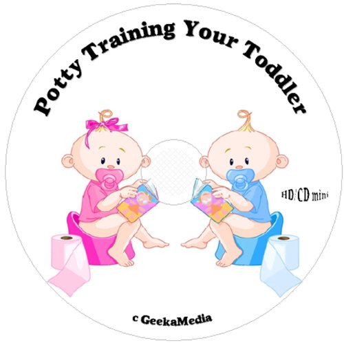 How To Potty Train Your Toddler: 3 Books & Training Aides On Cd