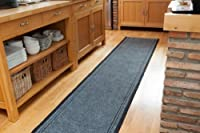 Concorde Durable made to measure Grey Non Slip Hall Runner - SOLD BY THE FOOT - QUANITY 1 = 1 FOOT from The Rug House