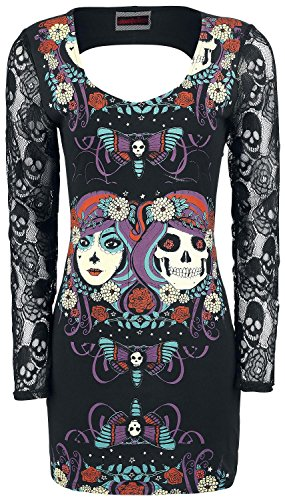 Jawbreaker Two-Face Mexican Dress Abito nero XL