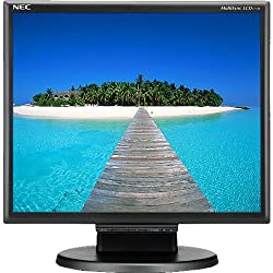 NEC 1770 Black 15 Screen 1280 x 1024 Resolution Refurbished LCD Flat Panel Monitor