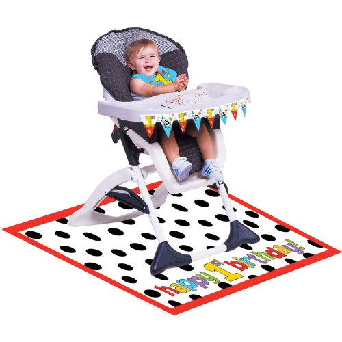 Creative Converting Barnyard Bash First Birthday High Chair Kit