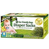 Green N Pack Eco Friendly 200-Count Baby Diaper Sacks(Special Offers)