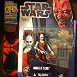 Star Wars, 2012 Discover the Force, Aurra Sing Action Figure #1/12, 3.75 Inches
