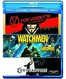 Triple Feature (V for Vendetta / Watchmen / Constantine) [Blu-ray] (Bilingual)