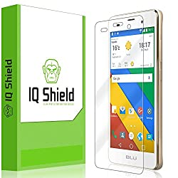 BLU Dash M2 Screen Protector, IQ Shield LiQuidSkin Full Coverage Screen Protector for BLU Dash M2 HD Clear Anti-Bubble Film - with Lifetime Warranty