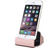 COOLOO iPhone 充電 スタンド 同期 スタンド iPhone6/6s/6Plus/6s plus/5s/5c/5,iPad mini対応 Dock ドックスタンド デスク 卓上スタンド usb ケーブル付き ケース付けても使用可能 置くだけ充電