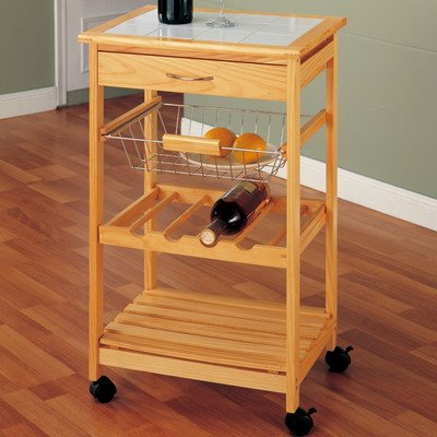 kitchen island and cart