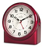 Acctim 14284 Central Alarm Clock, Red
