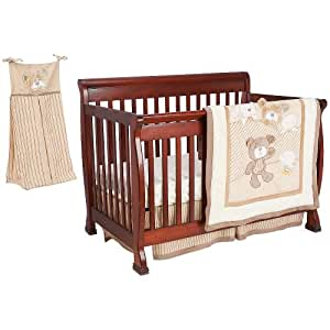 buy babies r us b is for bear 4 piece crib bedding set tan online at low prices in india. Black Bedroom Furniture Sets. Home Design Ideas