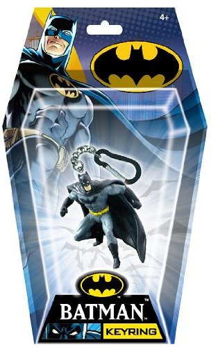 DC Batman Dodging PVC Figural Key Ring