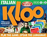 KLOO's Learn to Speak Italian Language Card Games Pack 1 (Decks 1 & 2)