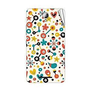 Garmor Designer Mobile Skin Sticker For Lenovo S750 - Mobile Sticker
