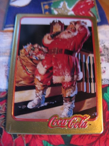 1942 Coca-Cola Santa Card (1994 Limited Edition Metal Card)
