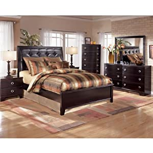Pinella Panel Bedroom Set (King) by Ashley Furniture