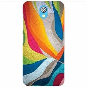 HTC Desire 526G Back Cover - Silicon Criss Cross Designer Cases